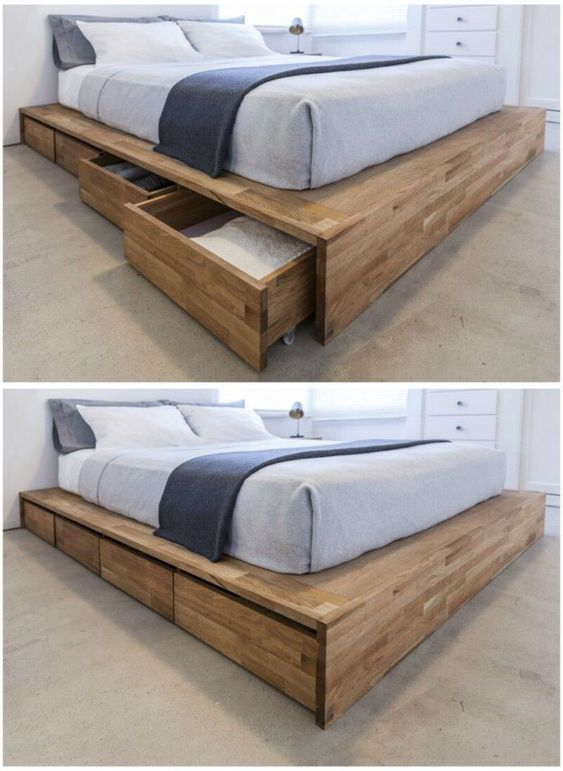 useful bed with storage for your minimalist bedroom