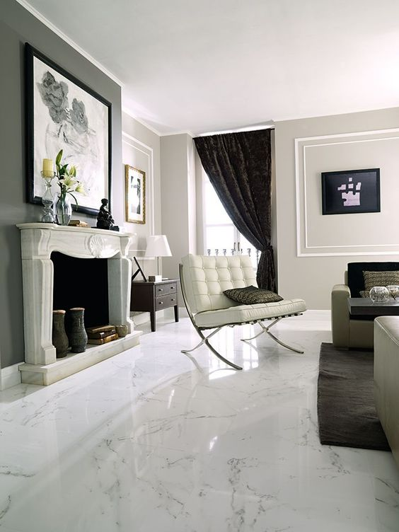 marble for luxurious flooring