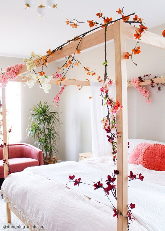 spring in your bedroom
