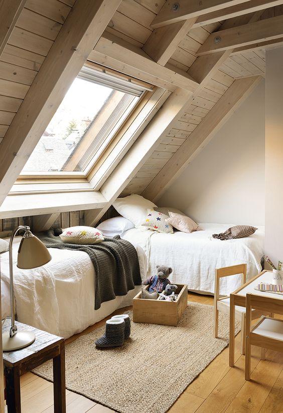 Dutch colonial loft bedroom