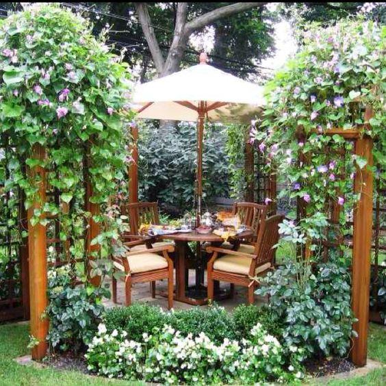 romantic dining spot