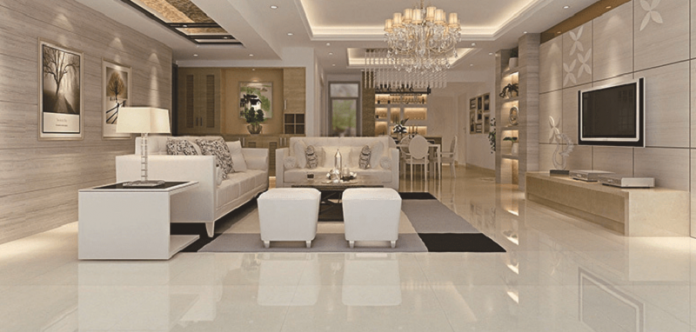 elegant marble home design