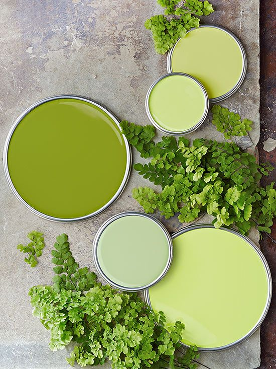 green lime paint