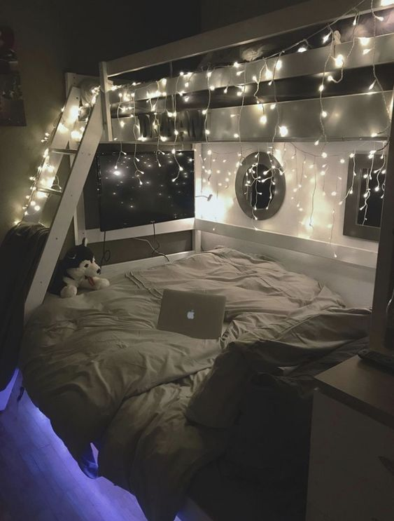 LED lights for your cozy bedroom