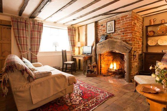 classic British living room