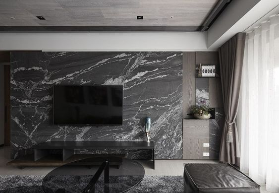 luxurious marble wall
