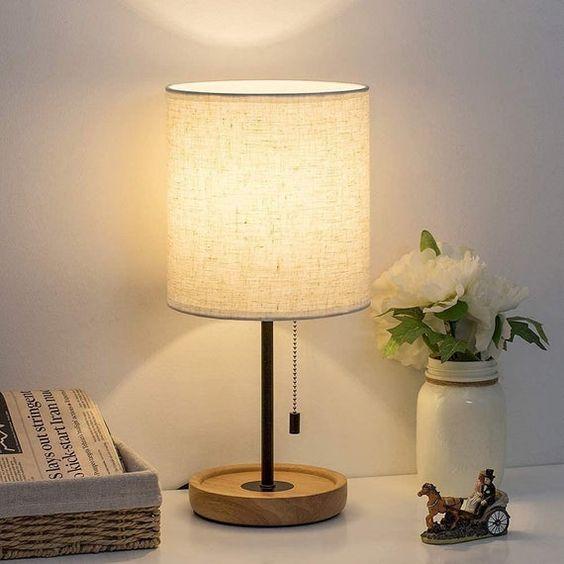 nightstand lamp for cozy bedroom