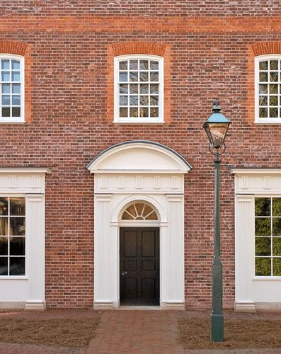 British red brick wall