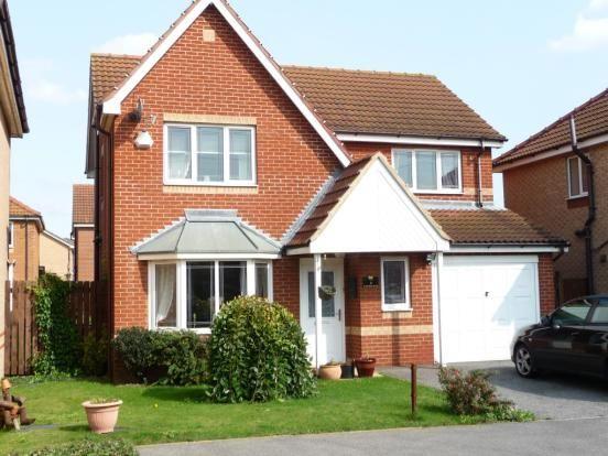 British roof brick house