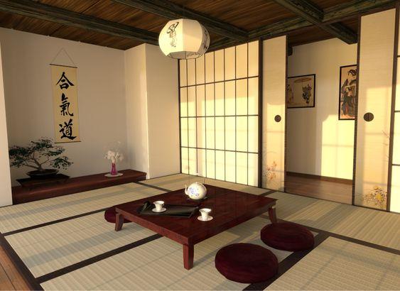Japanese straw mats tatami