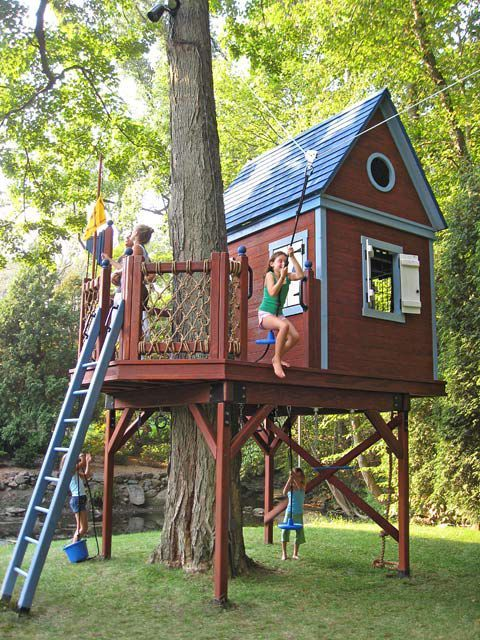 tree house for our backyard