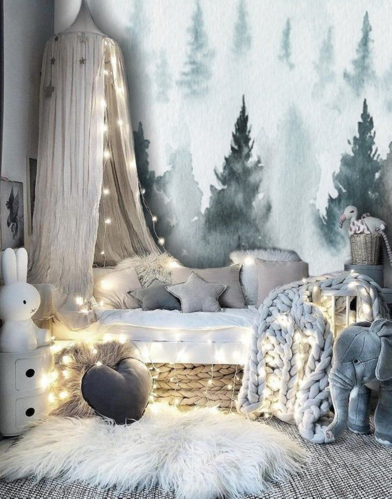 frozen bedroom ideas inspired by animated Disney movie