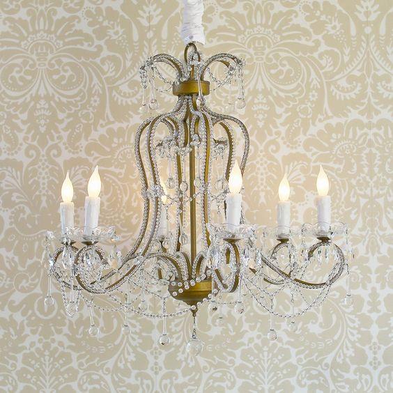 lighting for shabby chic room style