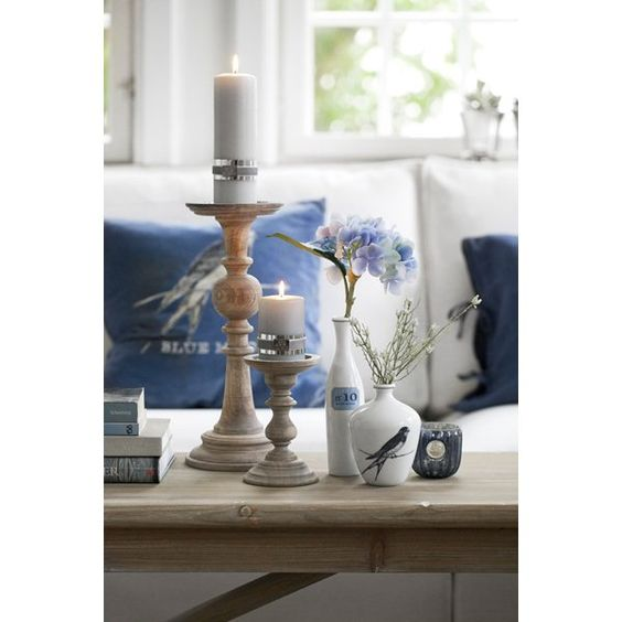 candlestick for shabby chic living room