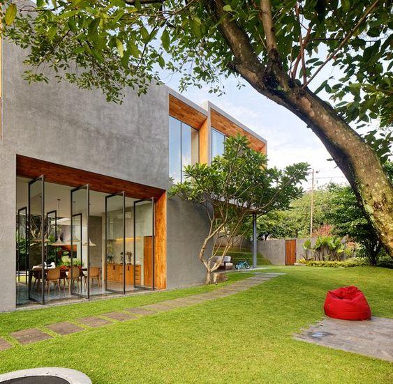 exterior concrete house design