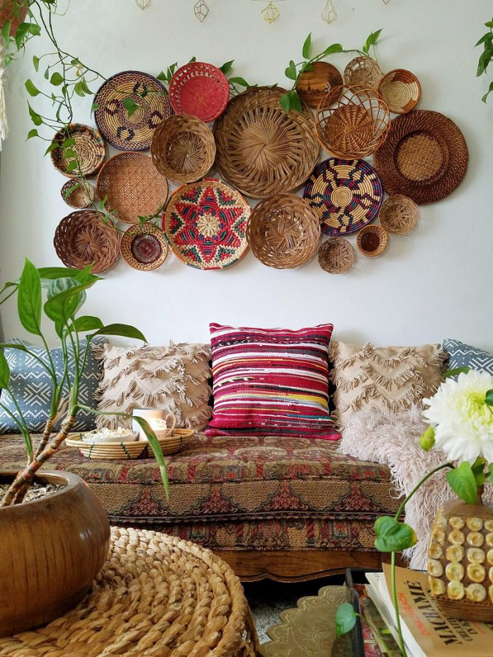 Bohemian Living room ideas and decoration