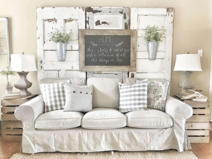 shabby chic living room ideas and some must-have decoration