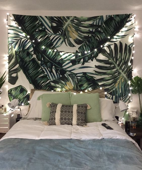 jungle tapestry for tropical bedroom
