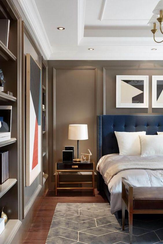 soft color for masculine bedroom