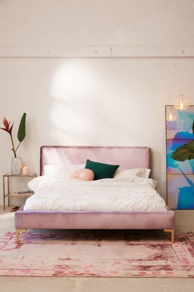 soothing backdrop eclectic bedroom