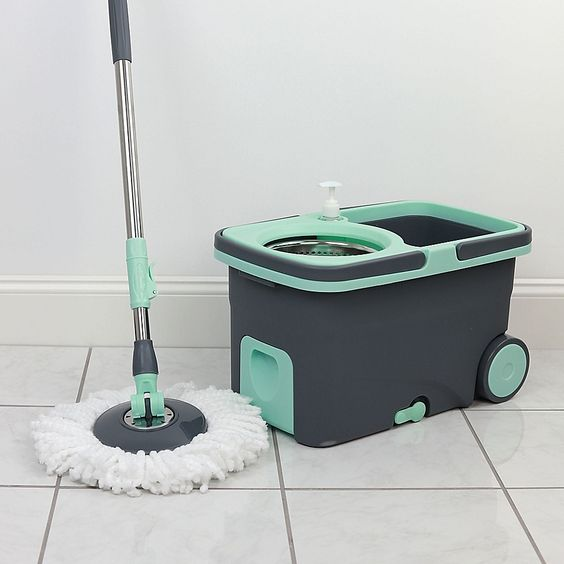 spin mop is a best solution for mopping floor