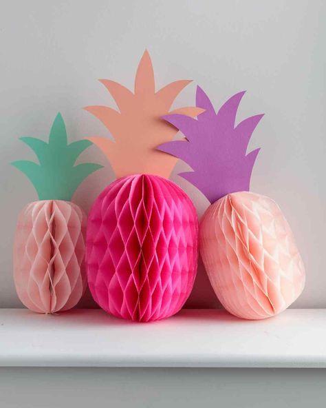 tropical craft decoration