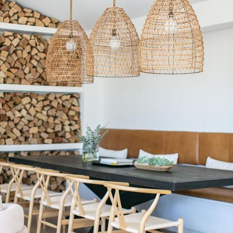 warm dining ambiance in Scandinavian style