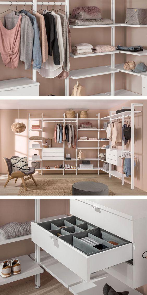 dream walk-in closet for girl