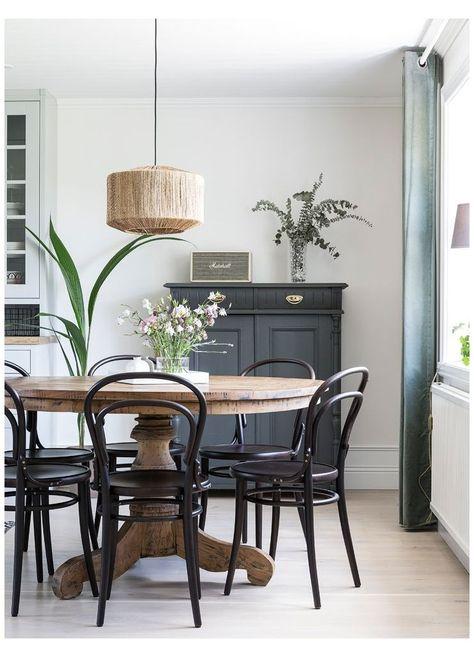 Scandinavian interior with earthy color decoration