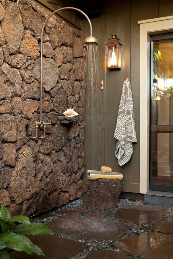 shower stone wall panel