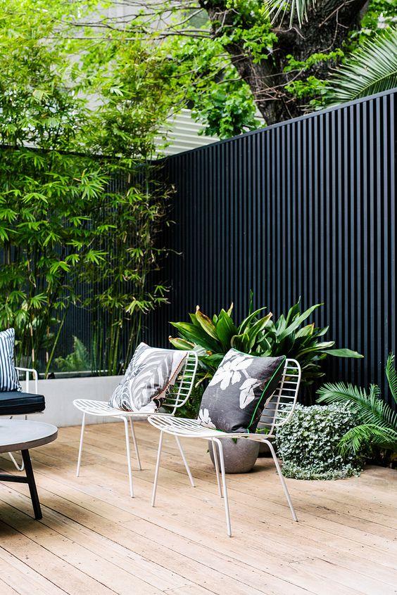 exotic minimalist garden idea