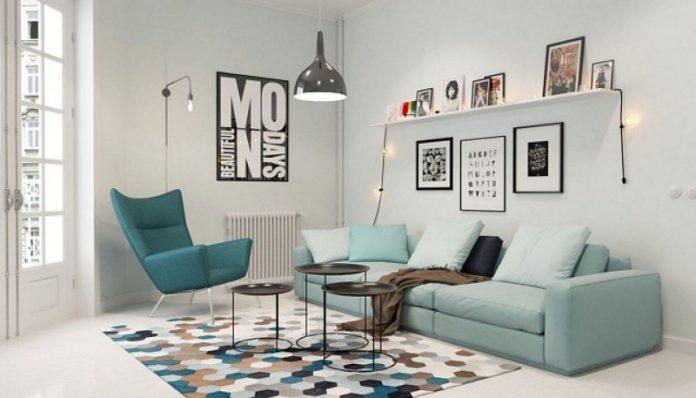 Elegant Scandinavian living room designs