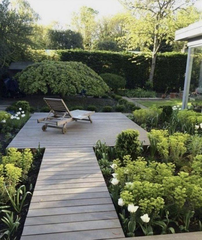 minimalist backyard garden ideas