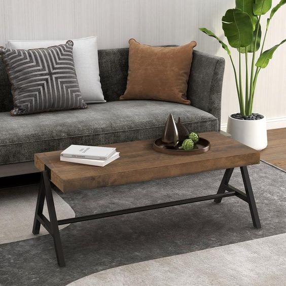 Cozy Scandinavian studio apartment living room