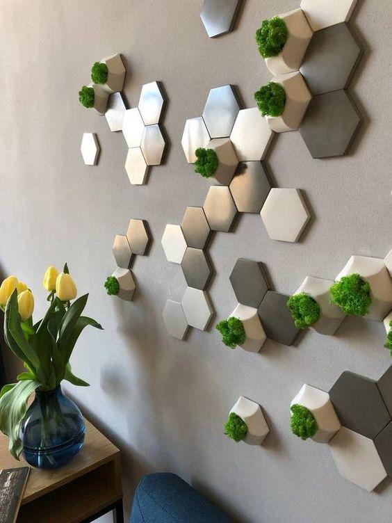 decorative honeycomb decorative concrete wall