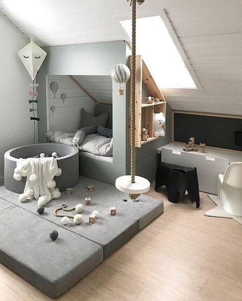 Scandinavian kids' bedroom