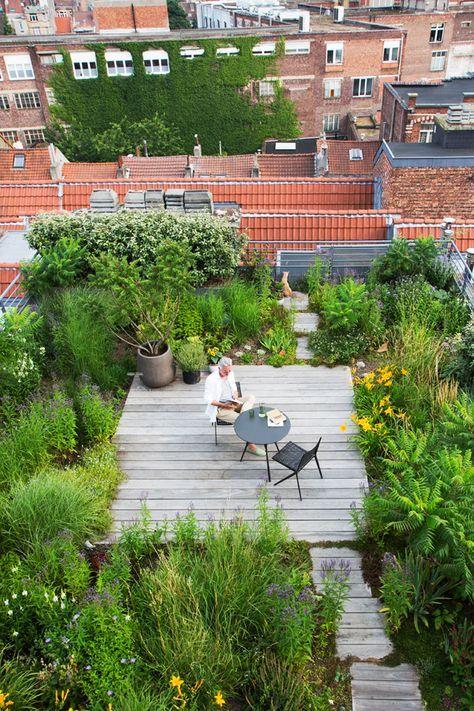 little oasis rooftop design idea
