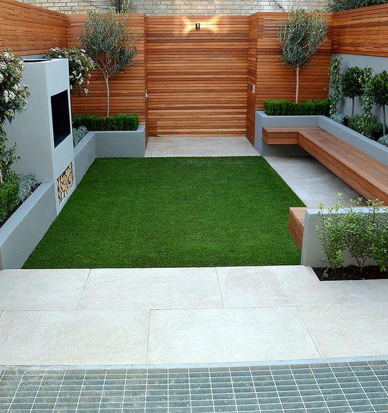 low maintenance backyard garden idea