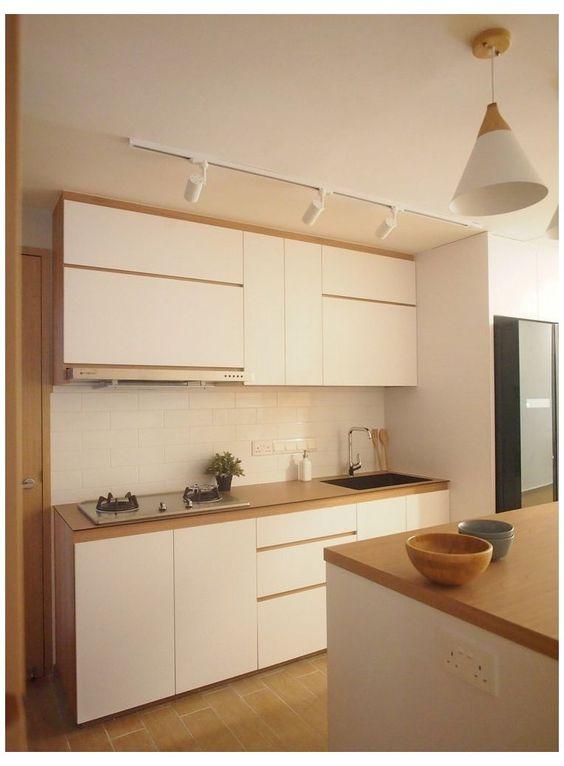 minimalist Japanese kitchen style