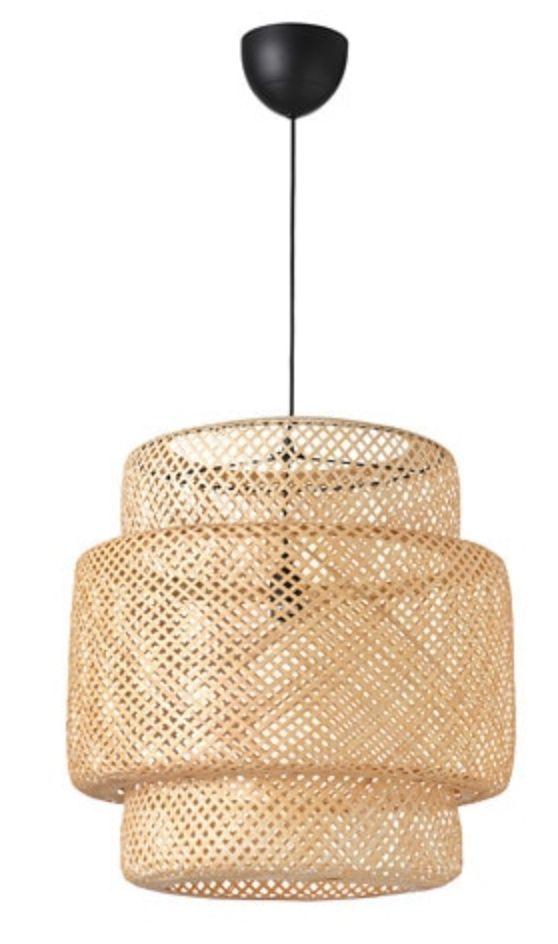 rattan pendant lamp for a cozy interior design