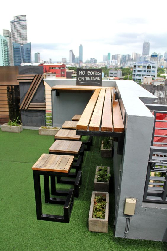 rooftop bar idea