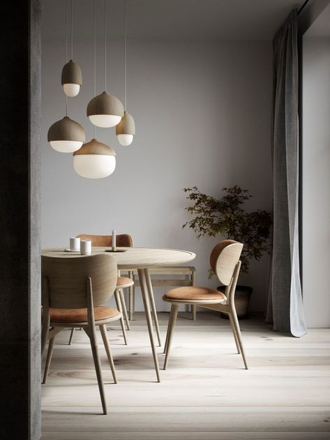 Scandinavian dining spot with handcrafted aesthetic