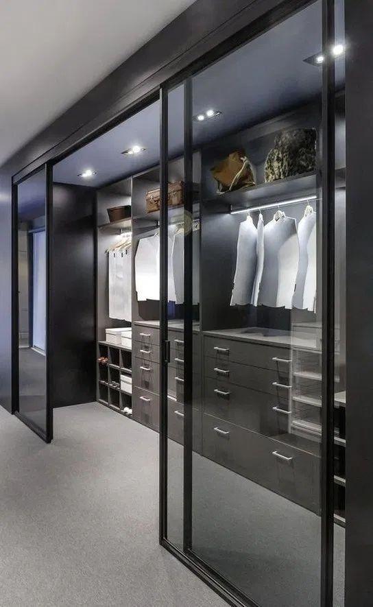 sophisticated walk-in wardrobe ideas