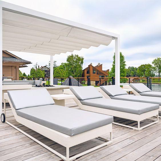 sunbathing rooftop design ideas