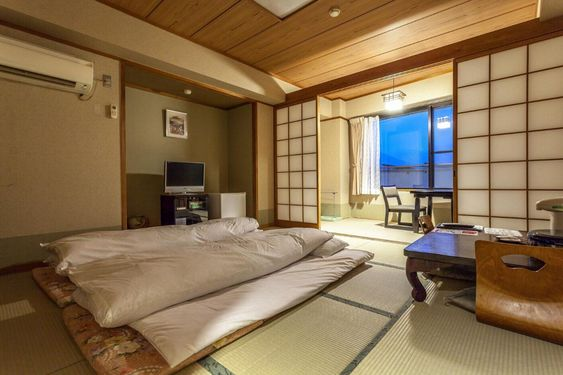 traditional Japanese bedroom feature