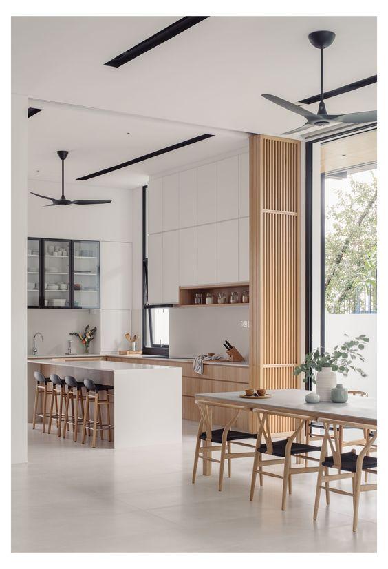 modern Japanese kitchen