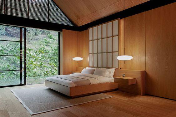 relaxing and harmonious Zen bedroom