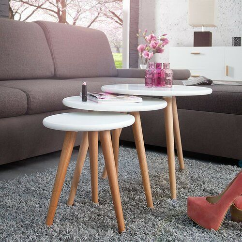 lightwood furniture accent in Scandinavian interior