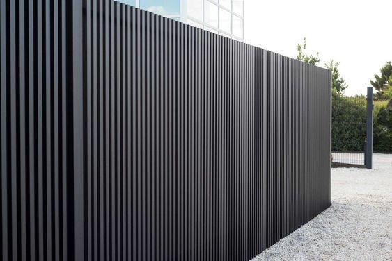aluminum fence idea