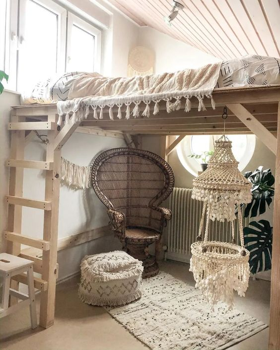 boho attic bedroom ideas
